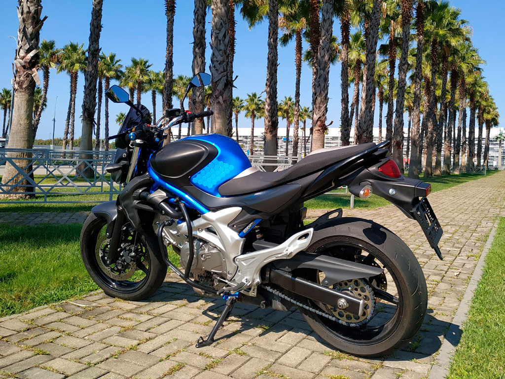 Аренда мотоцикла Suzuki SFV 650 Gladius в Сочи и Адлере
